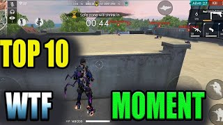 Top 10 WTF moment|| Free fire funny moments|| Free fire funny game play || run gaming