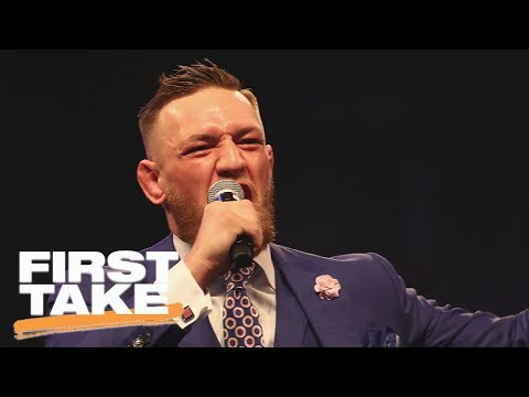 Thumbnail: Conor McGregor Greatest Trash-Talker Of All Time? | First Take | ESPN