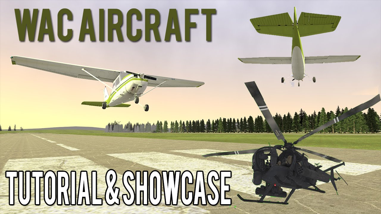 WAC Aircraft Tutorial & Showcase! Garry's Mod Flight