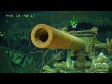 USS Lexington Found