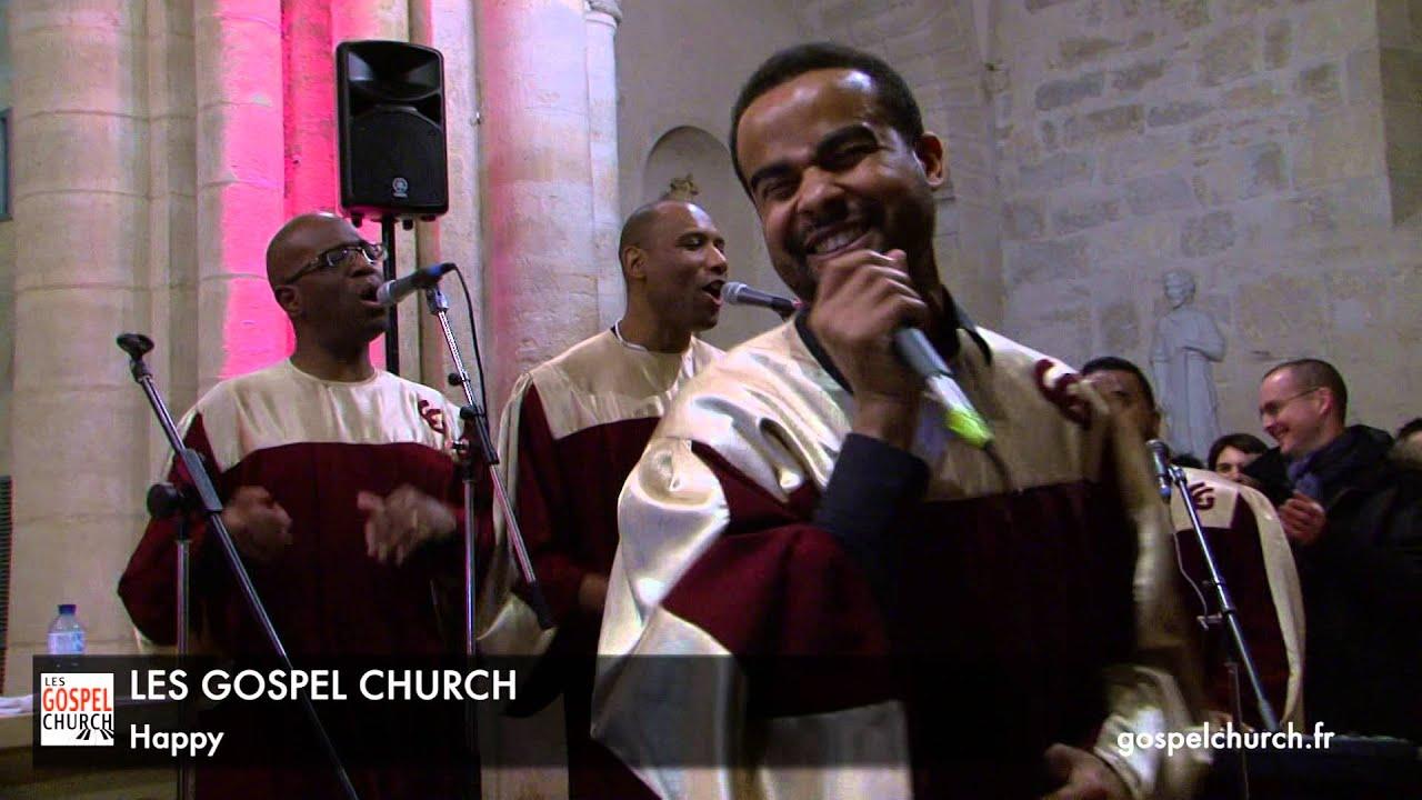happy par la chorale gospel church groupe gospel pour mariage et concerts - Chorale Gospel Pour Mariage