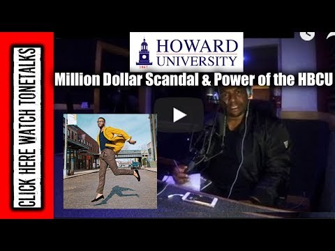 Howard University Million Dollar Scandal Power of the HBCU - Guest HBCU President Kevin Cosby