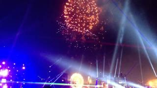 Kaskade Edc 2012, Vip Cabanna View, Fireworks And Laser Show! Hd Quality!