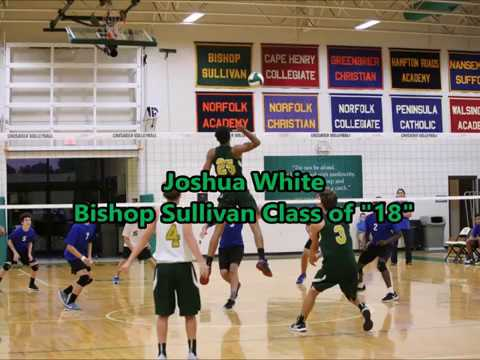 Joshua White Bishop Sullivan Catholic High School #25 #10 #31