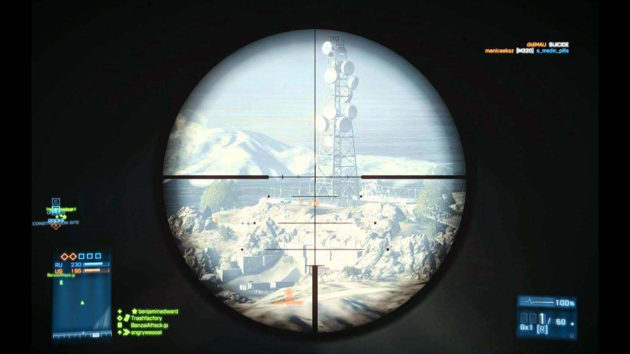 Battlefield 5 Bullet Drop Guide 690+ Meter, 300, 150 ...