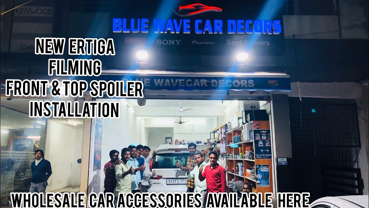 BLUE WAVE CAR DECORS | WHOLESALE CAR ACCESSORIES SHOP | HYDERABAD CAR DECOR |  ERTIGA MODIFICATION