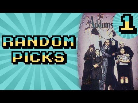 [Random Picks] Addams Family [Part 1]: Creepy and Kooky