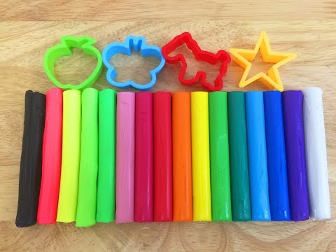 Play and Learn Colors With Kid Art Modeling Clay Fun and Creative