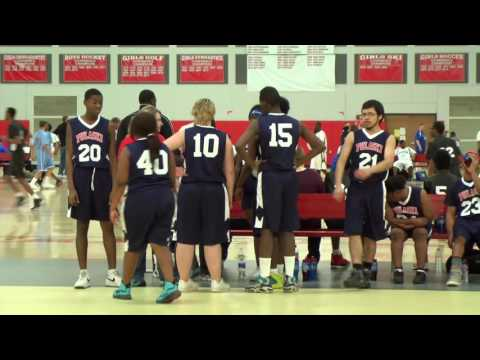 Special Olympics Basketball: MPS Pulaski Rams vs MHSA Stars