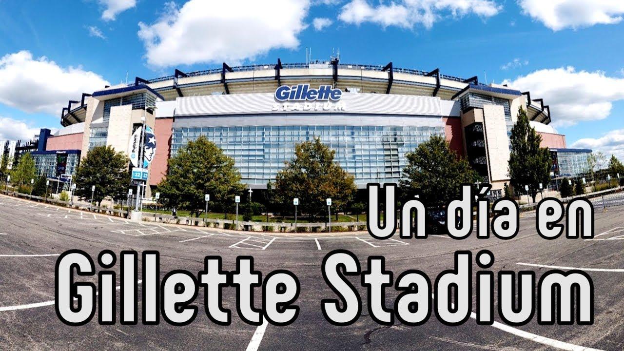 Gillette Stadium: La impresionante casa de los New England Patriots!