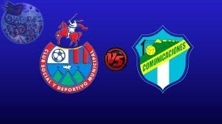 Municipal 0 - 3 Comunicaciones - Apertura 2012 Final Ida