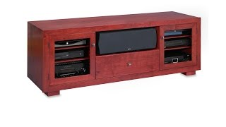 Haven Ex 72-inch Solid Wood Tv Stand By Standout Designs - A Virtual Tour