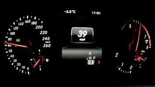 2014 Mercedes-Benz CLA250 0-60 MPH Acceleration Test Video - Turbocharged 2.0 Liter Engine