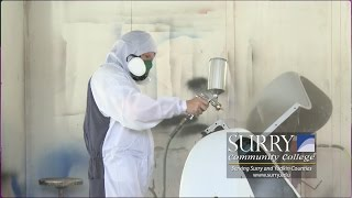 autobody collision repair and refinishing at surry community college