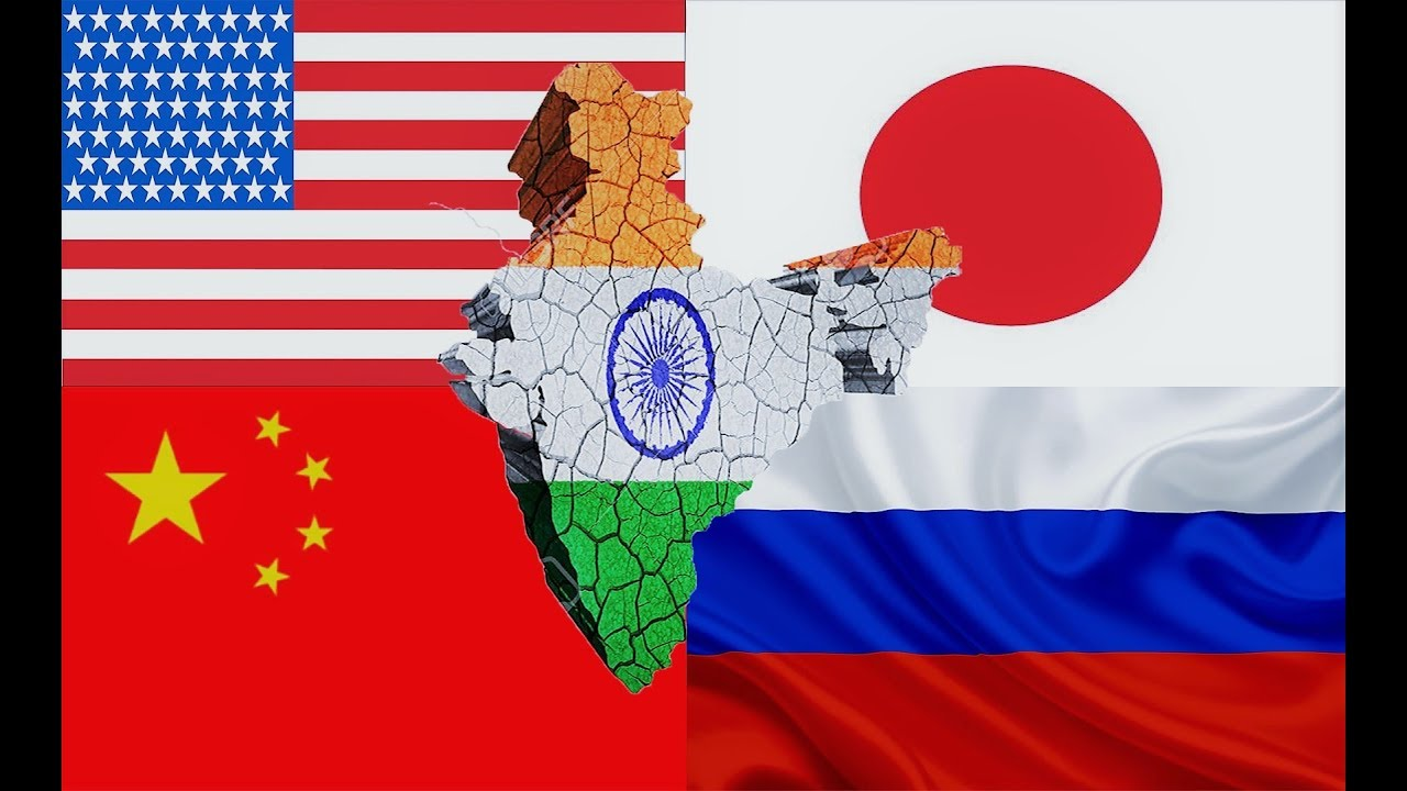 Image result for India russia china usa