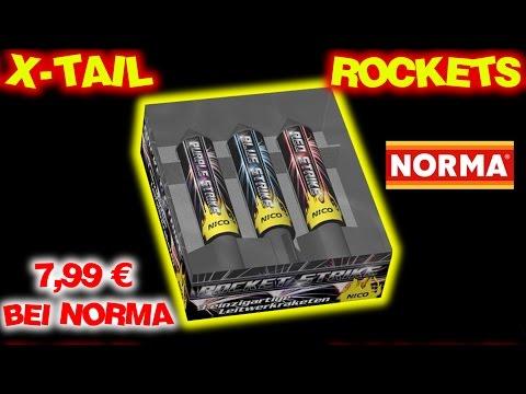 NICO X-TAIL ROCKETS | Norma 7,99€ | Nico Rocket Strike | Leitwerkraketen