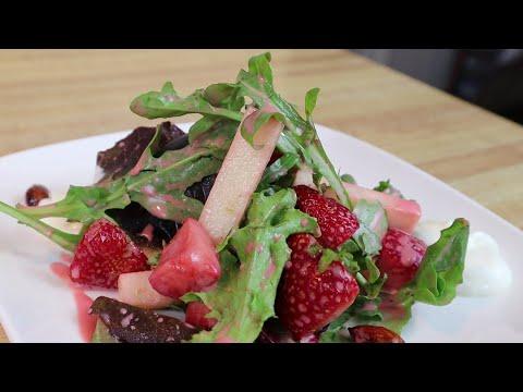 Gluten Free Strawberry Jicama Salad