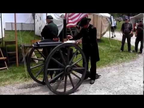 1862 Gatling Gun Demonstration