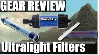 Ultralight Backpacking Water Filters: Sawyer mini squeeze vs. Lifestraw vs. Aquamira Review(Ultralight backpacking water filter shootout! Sawyer Mini squeeze, Lifestraw, and aquamira frontier! The good the bad and the ugly of each one. (Also why I think ..., 2014-04-29T23:56:57.000Z)