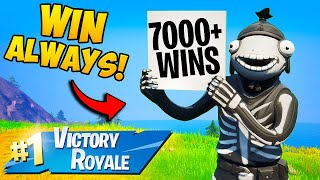 *NEW TRICK* HOW TO WIN EVERY GAME!! - Fortnite Funny Fails and WTF Moments! #1077