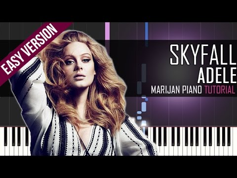 How To Play: Adele - Skyfall | Piano Tutorial EASY
