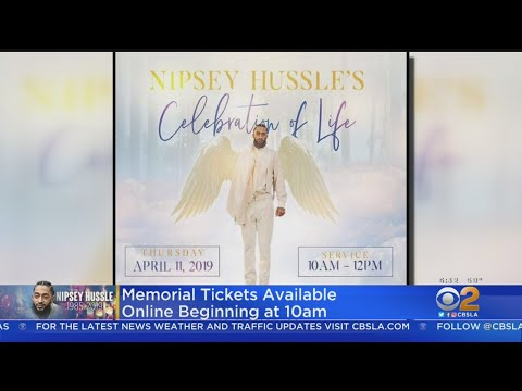 Tickets Available Today For Nipsey Hussle Memorial At Staples Center