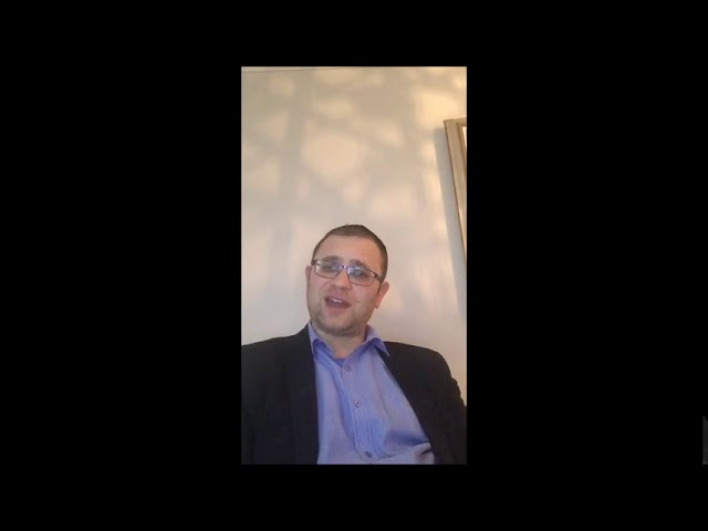 Shabbat Video Message from Rabbi Knopf - April 23, 2020
