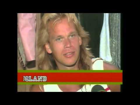 Europe in California  Joey's 25th Anniversary @ Ritz TV  1988