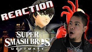 Joker Gameplay + Smash Ultimate 3.0 Trailer REACTION!