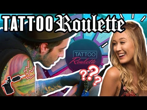 Tattoo Roulette Ep.3 - LaurDIY, Romeo Lacoste (Official Game Show!)