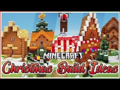 Minecraft Christmas House Ideas