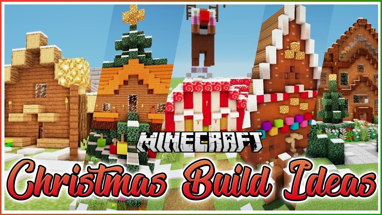Minecraft Christmas Houses.5 Minecraft Christmas House Ideas