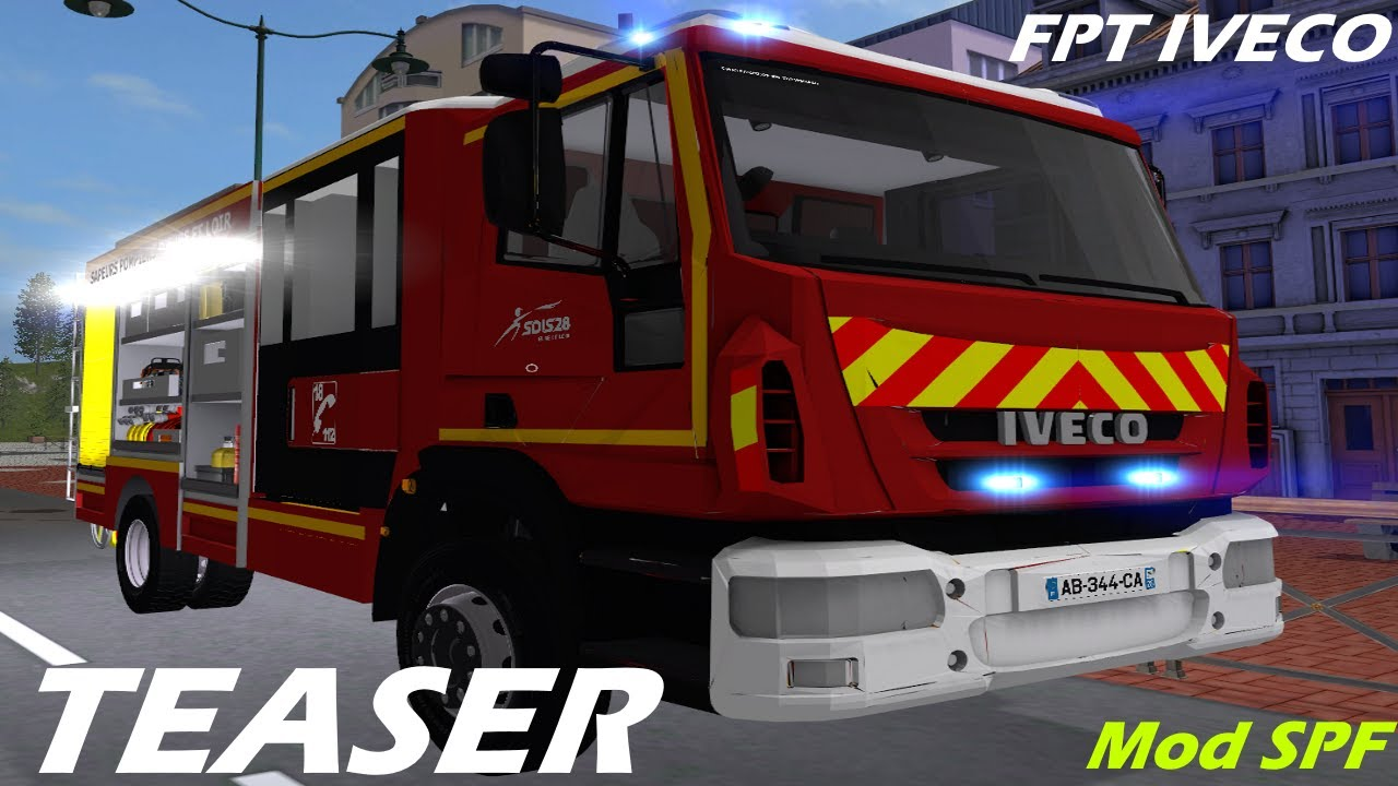 Teaser Fpt Iveco Magirus Mod Spf Fs 17 Youtube