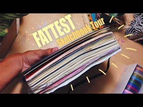 Fattest Moleskine Sketchbook Tour
