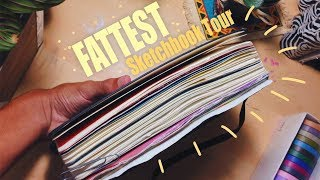 fattest-moleskine-sketchbook-tour