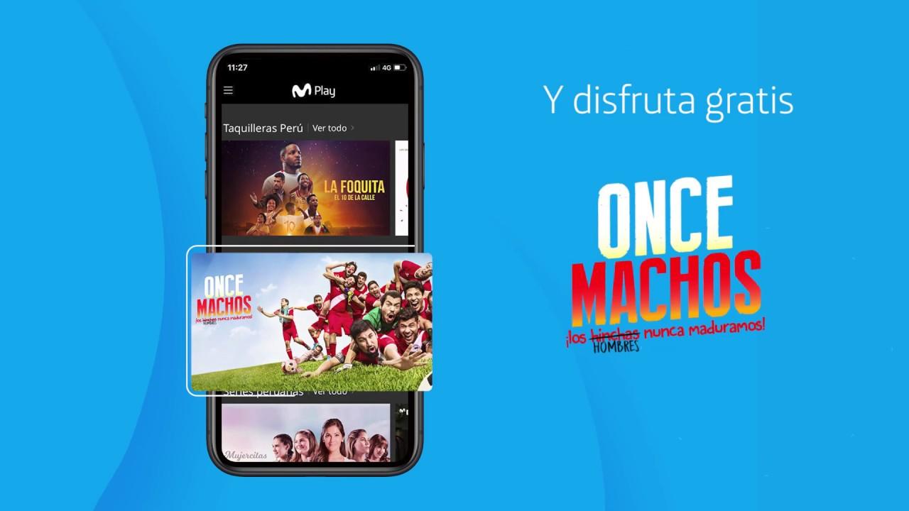 La peli Once Machos llegó GRATIS a Movistar Play