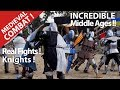 Capture de la vidéo Medieval Combat With Knights ! Battle Of The Nations ? Middle Ages !