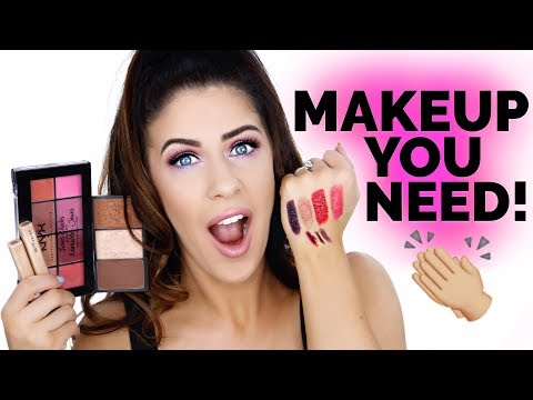TOP TEN DRUGSTORE MAKEUP MUST HAVES!! | PRODUCTS THAT YOU NEED!!!!
