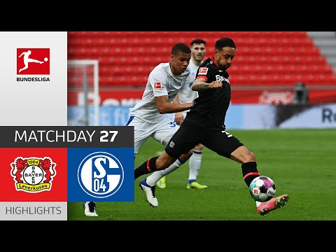Bayer Leverkusen Schalke Goals And Highlights