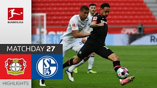 Bayer 04 Leverkusen - FC Schalke 04  2-1  Highlights  Matchday 27 – Bundesliga 2020/21