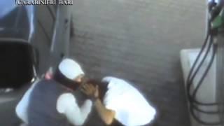 Il video delle rapine