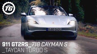 Best of Porsche: 911 GT2RS, Taycan Turbo S, 718 Cayman S   Top Gear