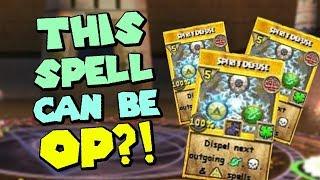 Wizard101 Champion (120) Death PvP: OP Spirit Defuse GLITCH!