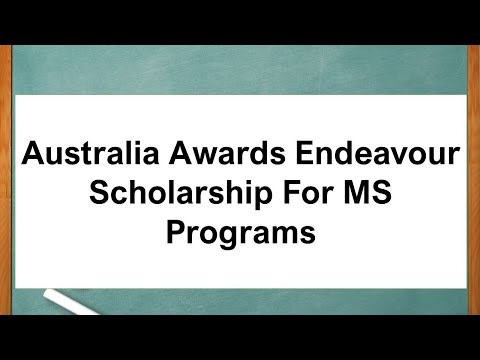 australia-awards-endeavour-scholarship-for-ms-programs