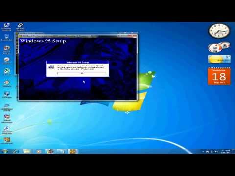 How To Install Windows 95,98 In DosBox