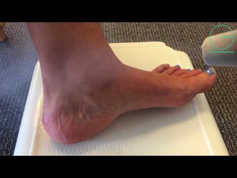CIRCLE EQUIPMENT. ORTHOPEDIC FOOT.  ANKLE TREATMENT. ATHLETE'S FOOT
