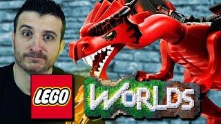 ALLA RICERCA DEL DRAGO SU LEGO WORLDS #5