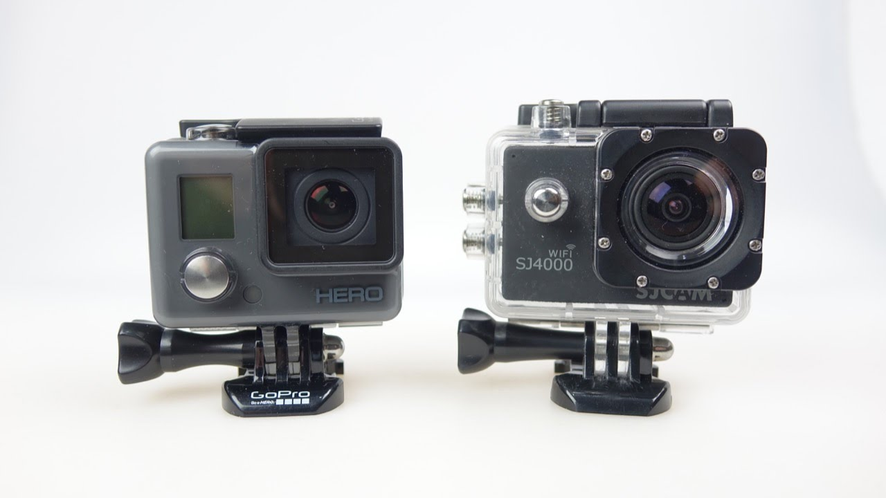 Budget Action Cam Showdown: GoPro Hero (Full Review) vs SJ4000 ...