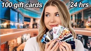Using 100 Gift Cards in 24 Hours!