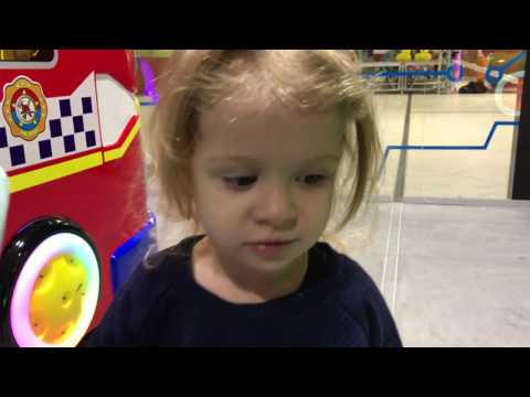VLOG. Детский развлекательный центр!!! Игровые автоматы!!! Видео для детей. Часть 1.